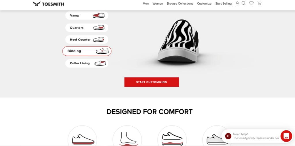 customizable-shoe-company