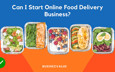 Can I start an online food delivery business?