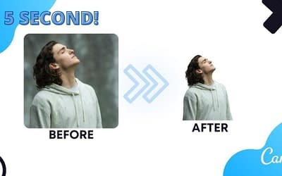 How to remove background in 5 seconds ( perfectly using Canva )