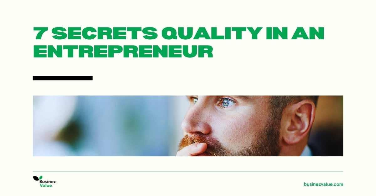 entrepreneurship-secret